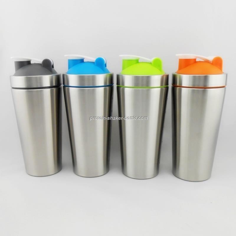 Stainless Steel Blender ~ Stainless steel blender shaker bottle