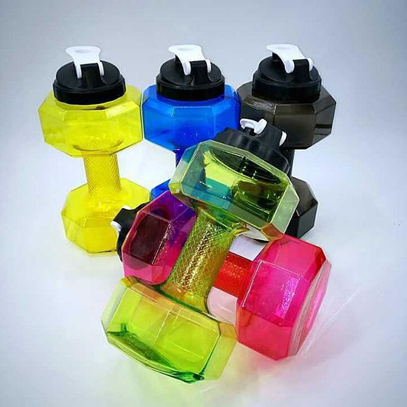 Dumbbell Shape 2 2l Jug 2 2 Liter Gym Fitness Water Bottle