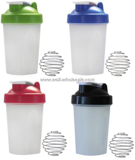 Protein Shaker Logo: 500ml Custom Logo Shaker Bottle Smart Shaker Cup