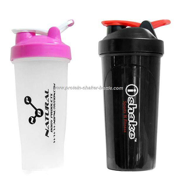 Wholesales 700ML Plastic Protein Smart Shaker Bottle