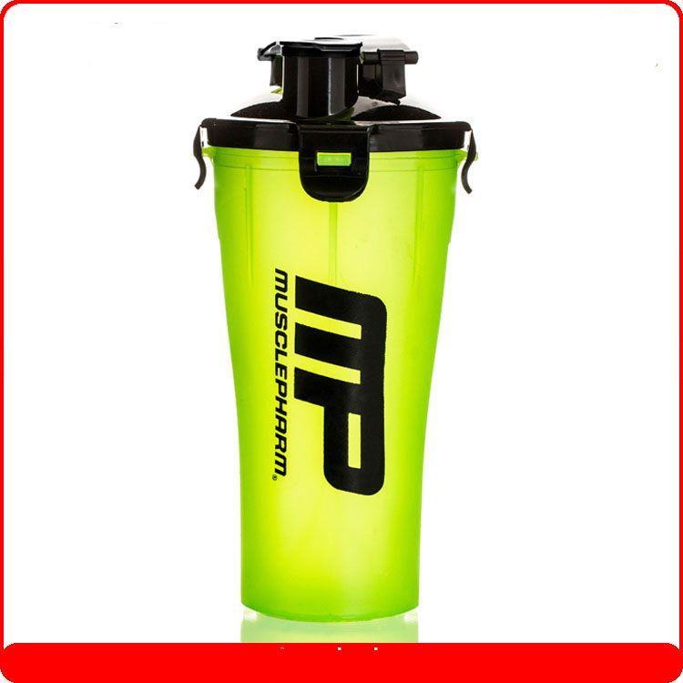 Protein Shaker Net: 2 In 1 Dual Cup Water Bottle ,Dual Shaker, Shaker Bottle