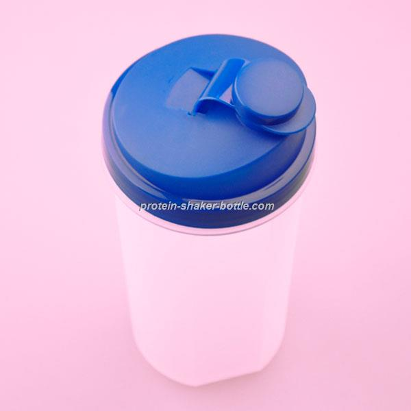 700ml protein plastic fitness pink shaker cup