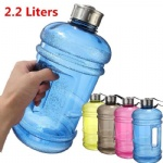 2.2L Large Capacity Water Bottles Outdoor Sports