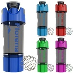 500ml cyclone water Bottle with powder