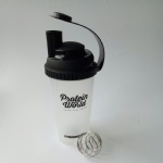 600ml bpa free plastic joy shaker protein bottle
