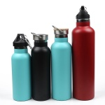 Custom Eco-friendly Portable Double Wall Stainless Steel Vacuum Insulated Sports Drinking Water Bottle