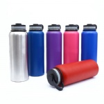 1000ML single wall or double walls Stainless Steel sport Water Bottle with custom logo