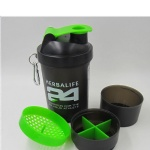 Protein Powder Three 3 Layer Shake Cup
