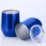 Newly Designed Shape 500ml Eggshell Metal Cup