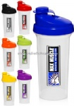 Plastic Custom Blender Bottles Personalized with Your Logo