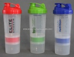 wholesale custom plastic BPA Free protein shaker bottle