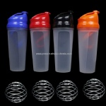 Supplements Bottle Protein Shaker Blender Mixer Shake Cup Large 750ML