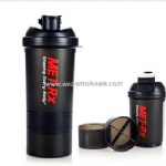 600ml Spider Bottle plastic Shaker Cup Blender Bottle