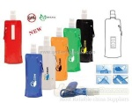 plastic foldable water bag/foldable water bottle/drinking bottle