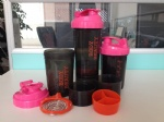 3 in one protein shaker bottle OEM