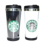 Stainless Steel Double Wall Starbucks Travel Coffee Mugs