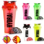 Protein Dual Shaker Bottle Cup,Dual Shaker Sports Water Bottle