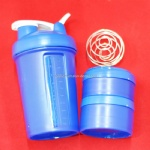 Three layers Prostak protein shaker bottle