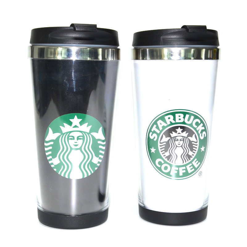 450ml Stainless Steel Double Wall Starbucks Travel Coffee