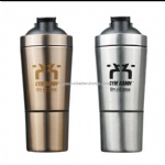 Protein Shaker,304 Stainless Steel Insulated Shaker Bottle