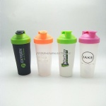 600ml plastic shaker bottle