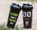 600ml sport blender protein shaker water bottle