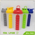 700ml fitness plastic shaker bottle eco-friendly with pill box