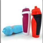 PE sport drink bottle with grip