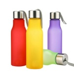 Customized logo Plastic sport bottle