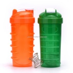 700ml shoelace personalized shaker bottles