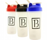 2017 latest design protein shaker bottles